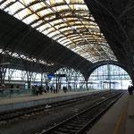 ここから列車に乗ってウィーンに戻ります。