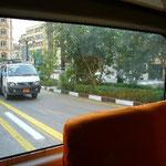 ミニバスに乗ってミニバスを撮っています。