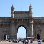 イギリス統治の象徴、インド門。