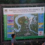 ブラジル側の国立公園に来ました。