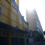 ボカ・ジュニアのスタジアム。ここにディエゴがいたから。