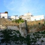 坂を登ると要塞がありました。