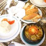 この窯焼き鍋を食べてエジプト料理を見直しました。ものすごく美味しいんですけど~。