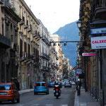 旧市街の街並み。