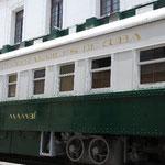 突然現れた列車。エルモア・レナードの小説「キューバ・リブレ」にも列車が登場するらしいですよ。
