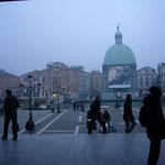 ヴェネツィアに着きました。高低差1,500mの大移動。