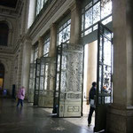 扉の模様が美しいのです。