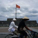ベトナムらしい景色。