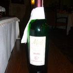 ギョレメ産のワインは私たちの大好きな味がしました。