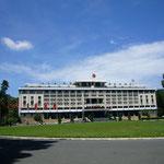 南ベトナム旧大統領邸。今はベトナム戦争の資料館。