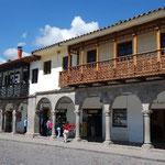 クスコはインカ帝国以前(プレ・インカ時代)からの、長~い歴史を持つ街。