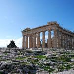 パルテノン神殿は、只今大規模修復中。いちばんよい時代の姿に戻すそうです。でき上がったら見に来たいな~。