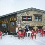 スキー場のカフェ&バー。