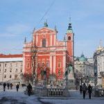 教会がある広場です。