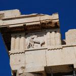 この部分にレリーフがぐるりと一周していたそうです。その姿もアクロポリス博物館で見ることができますよ。