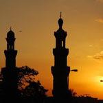 エジプトの夕日です。