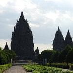 インドネシア/プランバナンの遺跡、ロロ・ジョングラン。美しいプロポーション。