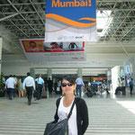 着きました。ムンバイの空港も広いです!