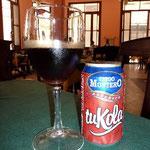キューバのコーラ。甘さ控えめでおいしい。カクテルにするとこれまたGood!