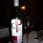 夕食はワインで。ああ~久しぶり!