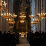 宮殿の隣にある教会です。日曜日の礼拝におじゃましました。