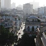 ハバナの街が一望できます。