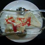 デザートのクルフィ。インドのアイスクリーム。アニスが入っています。