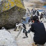 そんなyukazoとペンギンさんをのりのりがパチリ。