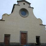 サントスピリト教会。ここにはミケランジェロ作、キリストの十字架像があります。これを見てからヴァチカンの彫刻を見るといいと思います。