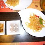 ジャカルタは本格中華も美味しい♪これは「クリスタル・ジェイド」のくらげ。香港よりずっと安いです。