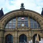 ハイジも降り立った、フランクフルト中央駅です。