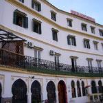 映画「シャルタリング・スカイ」のロケで使われたホテル。