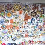 シチリアは陶器が有名です。
