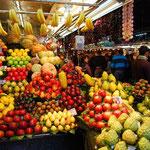気を落ち着かせる為に果物を見たりして。