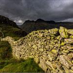 Trockenmauer in England - Foto: Brian Dorling