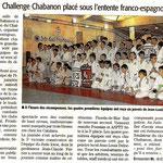06 Février 2012 (Midi Libre): Un 3ème Challenge placé sous l'entente franco-espagnole