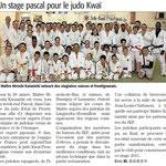 22 Avril 2015 (Midi Libre): Stage de Pâques