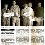 10 Décembre 2006 (Midi Libre): Soirée des Talents Sportifs - Frontignan