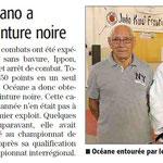 09 Octobre 2015 (Midi Libre): CN pour Océane Albano