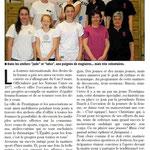 09 Mars 2014 (Midi Libre): Journée de la Femme