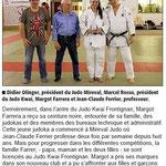 18 Avril 2014 (Midi Libre): CN pour Margot Farrera