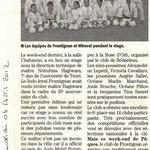 06 Avril 2012 (Midi Libre): Des maîtres japonais au Judo Kwai