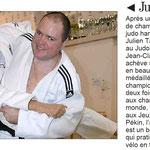 04 Janvier 2017 (Midi Libre): Rétrospective Julien Taurines