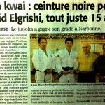 2011-2012 (Midi Libre): Sept Médailles au Grand Prix Régional