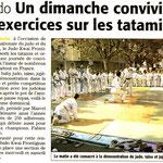 30 Septembre 2009 (Midi Libre): Fête Nationale du Judo à Frontignan