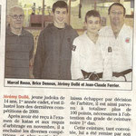 26 Janvier 2010 (Midi Libre): Jérémy Dolle, Ceinture Noire à 14 ans !