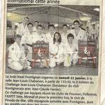 20 Janvier 2011 (Midi Libre): Un 2nd Challenge JL Chabanon international