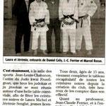 29 Novembre 2006 (Midi Libre): Laura Michel et Jérémy Senglat 1er Dan