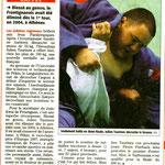 10 Septembre 2008 (Midi Libre): Julien Taurines, 3ème à Pékin