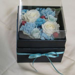 義妹への結婚記念プレゼント ブルーホワイト